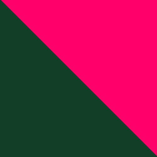 Dark Green and Pink