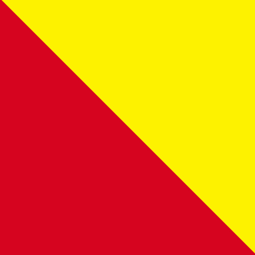 Red and Yellow